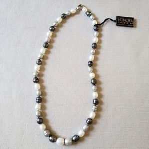 NWT Honora 18 inch freshwater pearl necklace